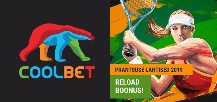 Prantsusmaa Lahtised 2019 reload boonus kõigile Coolbet Eesti klientidele