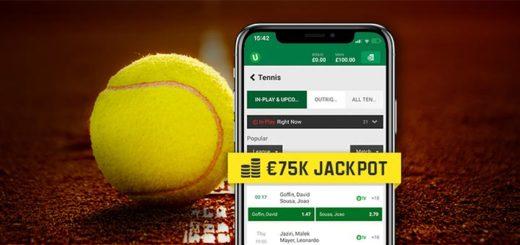 Prantsusmaa lahtised meistrivõistlused tennises 2019 - Unibet loosib panustajate vahel välja iga päev €5000 pärisraha