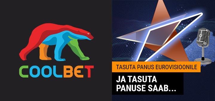 Teeni kihlveokontoris Coolbet €10 tasuta panus Eurovisioon 2019 finaalile panustamiseks