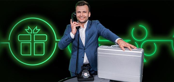 Unibet live kasiino €25 000 auhinnafondiga õnneloos