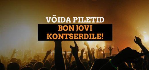Võida piletid Bon Jovi Eesti kontserdile - Coolbet loosib välja 14 tasuta piletit