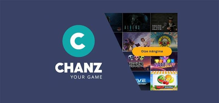 Mängi Chanz Casino Eesti lehel koheselt ilma registreerimata