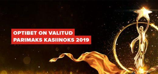 Optibet - parim online kasiino 2019 Baltikumis