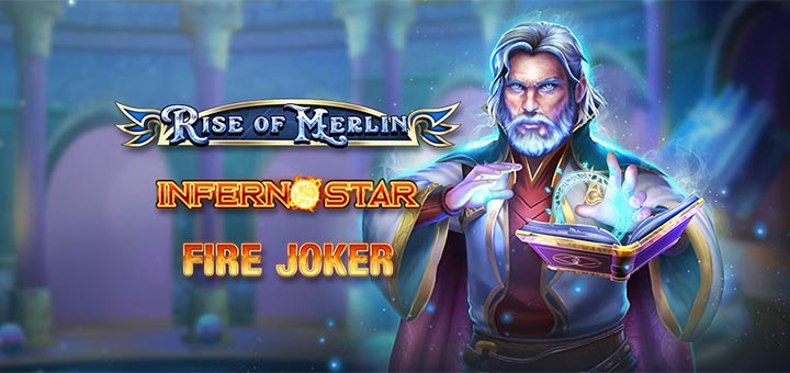 Rise of Merlin missioon Ninja Casino's - jagamisel €500 + 5000 tasuta spinni