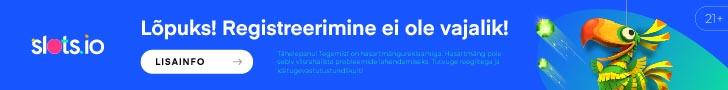 Slots.io litsentseeritud Eesti online kasiino -kiire registreerimine ja maksed