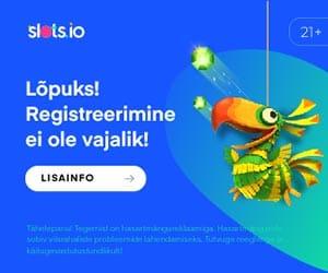 Slots.io - online kasiino - kiire registreerumine ja kiired väljamaksed