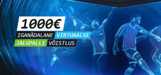 Coolbet Virtuaalsport jalgpalli võistlus
