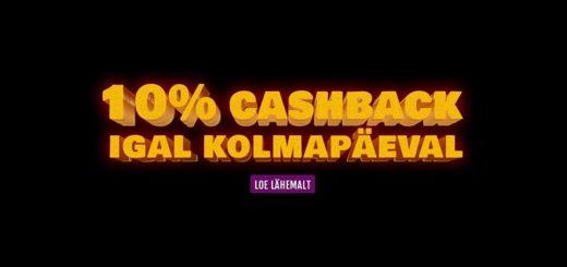 GrandX Casino kolmapäevane cashback