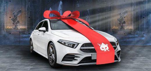 Ninja Casino autoloos - võida Mercedez Benz A-klassi sõiduauto