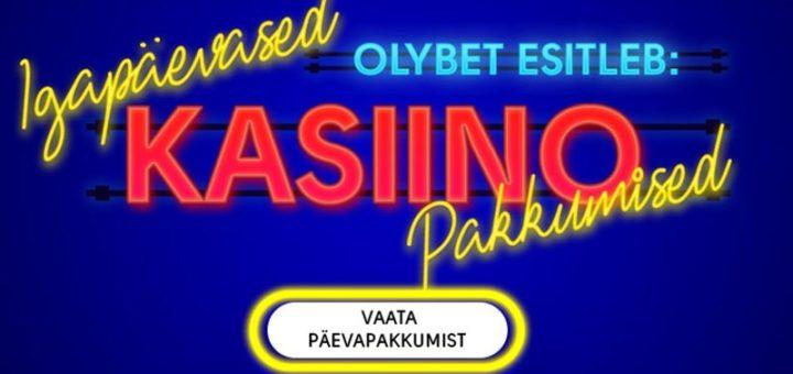 OlyBet kasiino päevapakkumised