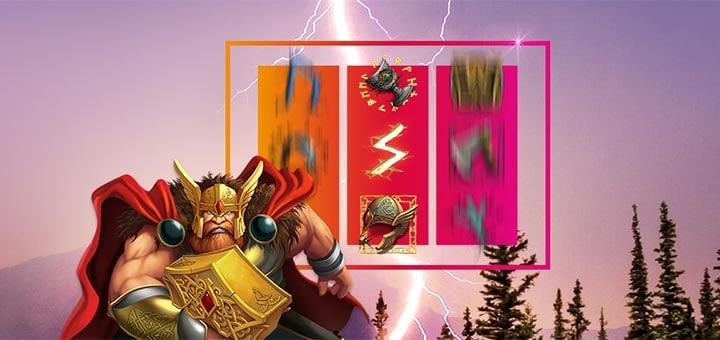 Thor Hammer Time eksklusiivne slotiturniir Maria Casino mängijatele