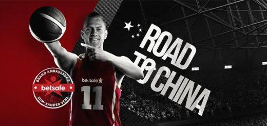 Võida VIP reis Hiinasse korvpalli MM-ile