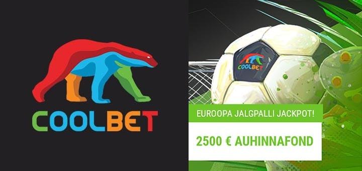 Euroopa Jalgpalli Jackpot Coolbet'is