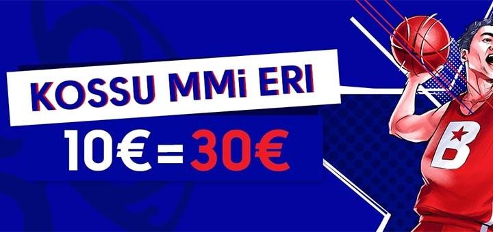 Korvpalli MM 2019 eripakkumine OlyBet'is