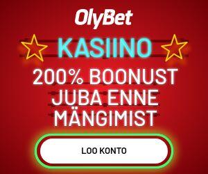 OlyBet Kasiino boonus