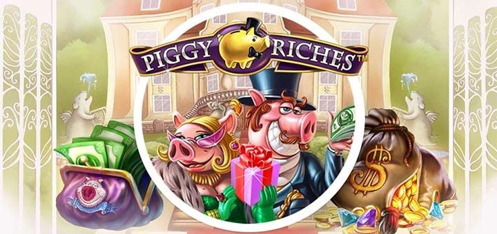 Piggy Riches tasuta spinnid ja rahaloos