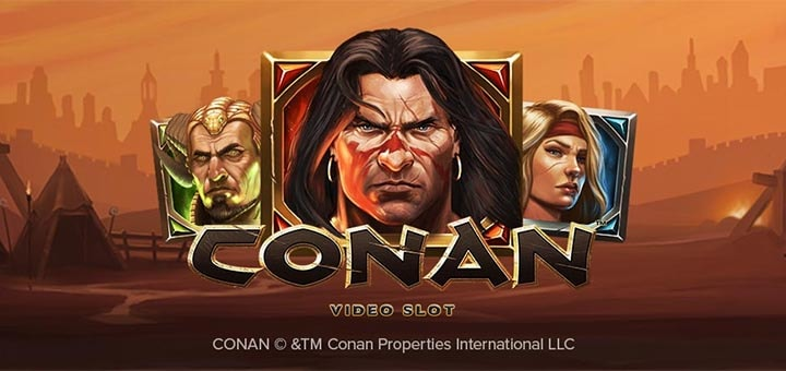 Conan Video Slot'i rahaloos Ninja kasiinos