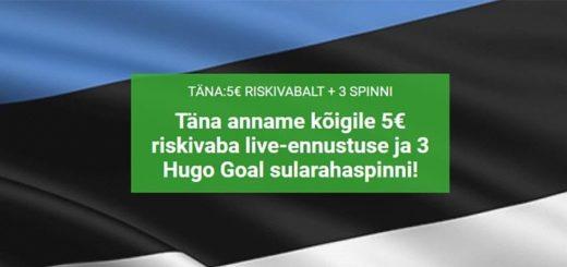 Eesti - Holland EM 2020 valikmängu eripakkumised Unibet'is