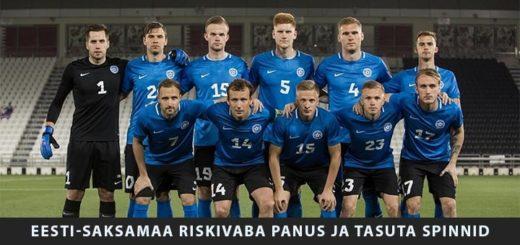 Eesti-Saksamaa EURO 2020 valikmäng - riskivaba panus ja tasuta spinnid Unibet'is