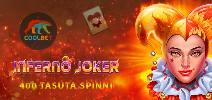 Inferno Joker tasuta spinnid Coolbet kasiino uutele liitujatele