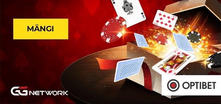 Optibet Online Pokker - $2000 boonus ilma sissemakseta