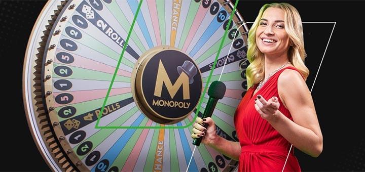 Teeni Monopoly Live kasiinomängus tasuta boonusraha