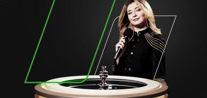 Unibet live kasiino Lightning Roulette tasuta boonusraha