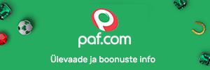 Paf Eesti - ülevaade ja boonuste info