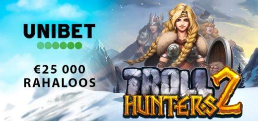 Troll Hunters 2 rahaloos Unibet kasiinos