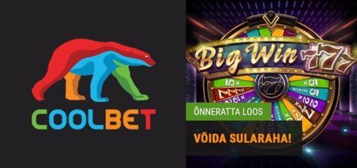 Big Win 777 õnneratta loos - võida kuni €1000 sularaha