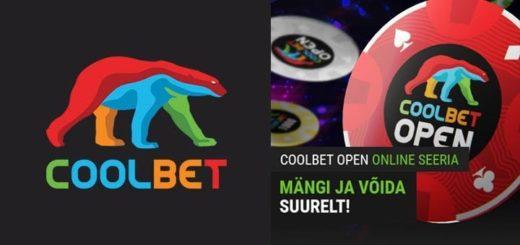 Coolbet Open Online Seeria - info ja ajakava