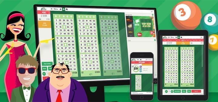 Pafi uuenenud bingoklient ja tasuta bingopiletite loos