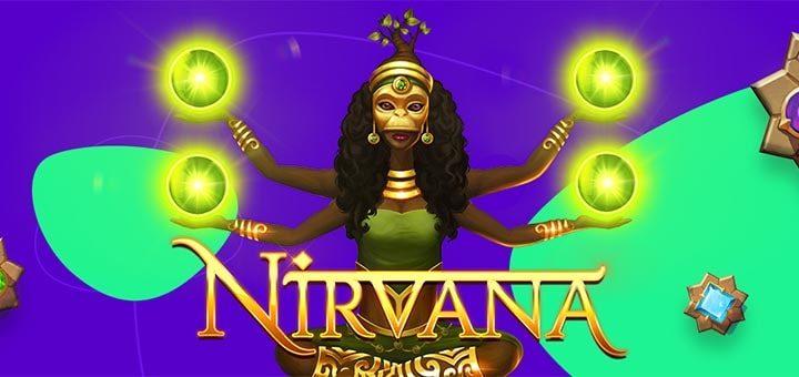Slotimäng Nirvana tasuta spinnid slots.io kasiinos