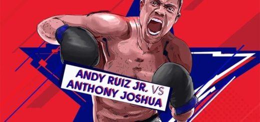 Andy Ruiz Jr. vs Anthony Joshua poksimatši riskivaba panus OlyBet'is