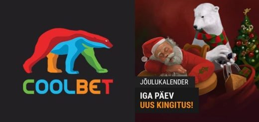 Coolbet'i Jõulukalender 2019 - iga päev uus kingitus