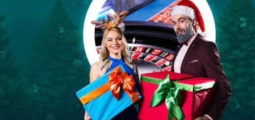 Live ruleti jõululoos Optibet kasiinos