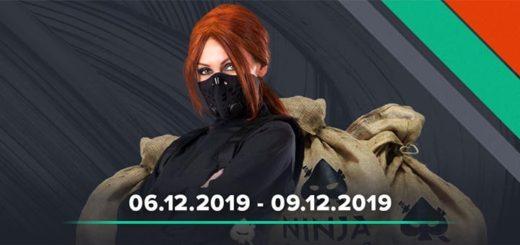 Ninja Casino nädalavahetuse võistlus - jagamisel €5000 sularaha