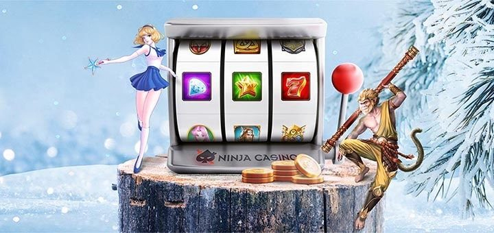 Ninja Casino talveturniir - võida kuni 500 tasuta spinni