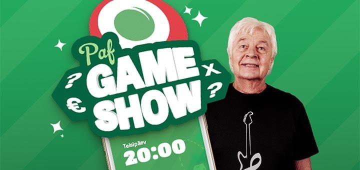 Paf Game Show - tasuta viktoriin koos Ivo Linnaga