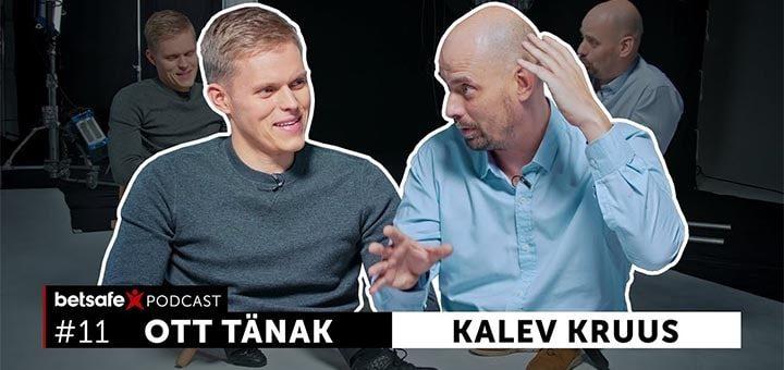 Betsafe podcast - Ott Tänak ja Kalev Kruus