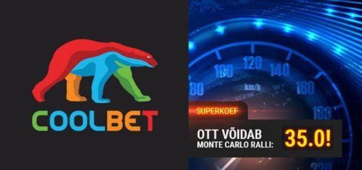 Monte Carlo ralli 2020 superkoefitsient Ott Tänaku võidule