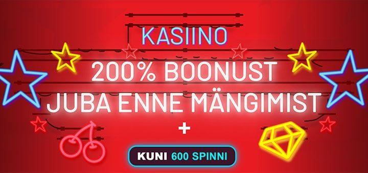 OlyBet kasiinos €200 boonust ja kuni 600 tasuta spinni