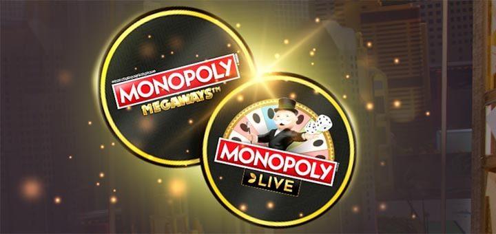 Optibet Monopoly Live kampaania - tasuta spinnid Monopoly Megaways slotikas