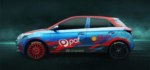 WRC 2020 rallihooaja autoloos - võida tuunitud Hyundai i20