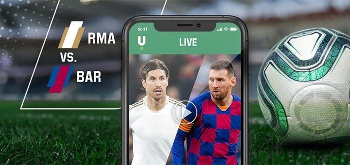El Clasico 2020 (Real Madrid vs Barcelona) koefitsiendid ja tasuta panus Unibet'is