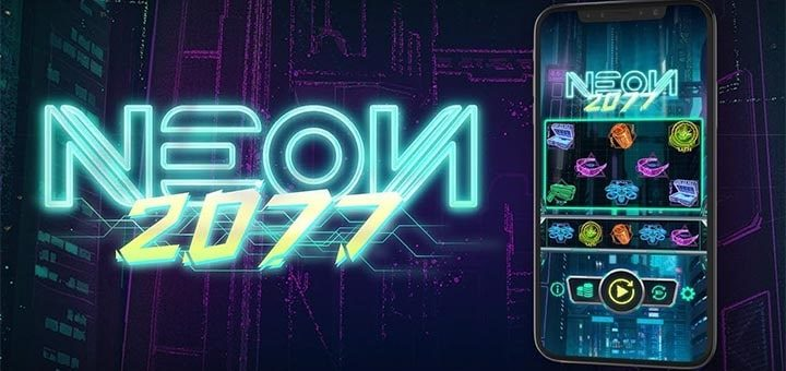 Neon2077 nädalavahetuse tasuta spinnid Slots.io kasiinos