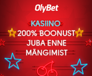 OlyBet kasiinos 200% sissemakseboonus