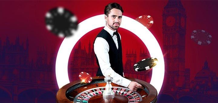 Optibet live kasiino rulett - teeni kuni €1000 cashback'i