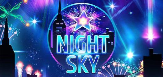 Paf kasiino slotimängus Night Sky tasuta spinnid