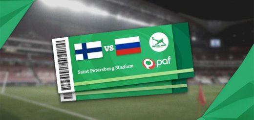 Võida Club Paf jalgpallireis Soome vs Venemaa EURO 2020 mängule